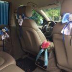 Свадебное украшение салона Ауди Q7