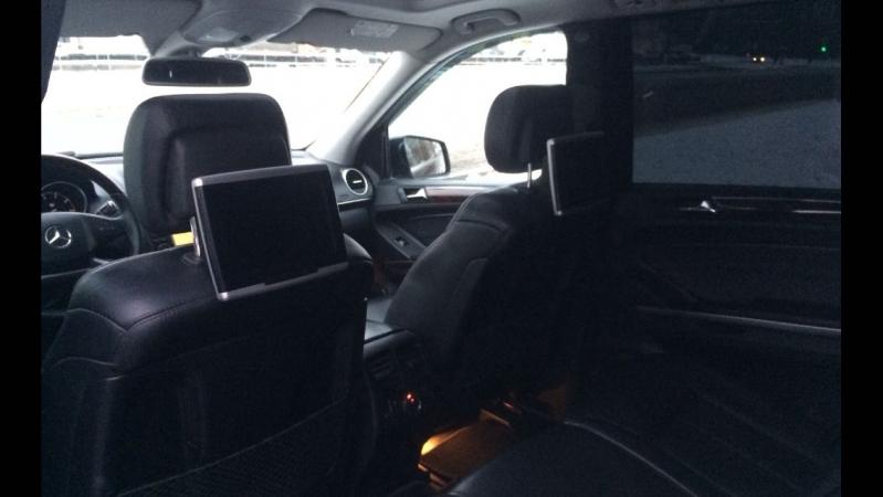 Задние пассажирские места в автомобиль Мерседес GL