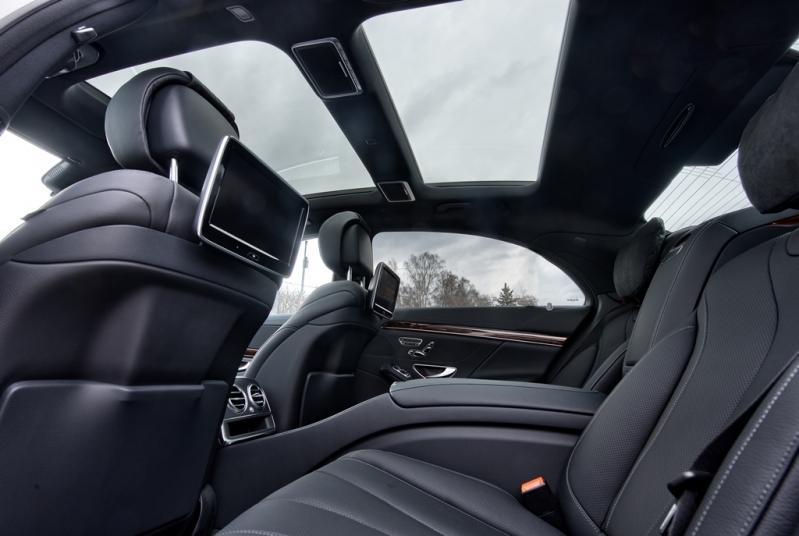 Салон автомобиля Mercedes-Benz W222