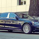 Автомобиль Мерседес-Майбах с водителем для свадьбы
