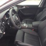 Водительское сидение автомобиля Ауди A6