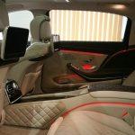 Пассажирские места автомобиля бизнес класса